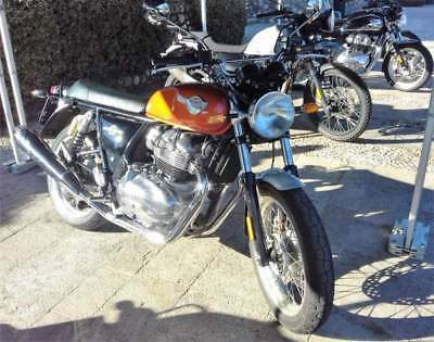 New royal enfield interceptor 650 standard arancione