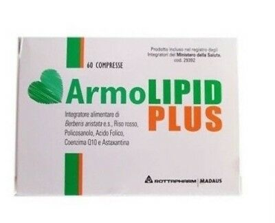 Armolipid Plus 60 Compresse Italiano Lunga Scadenza
