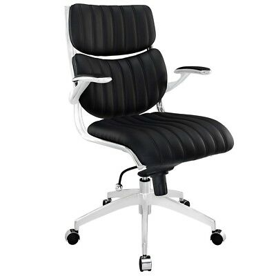 Modway Furniture Escape Midback Office Chair, Black - EEI-1028-BLK