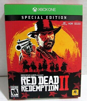 Red Dead Redemption 2: Special Edition - Xbox One - October 26, 2018 - Mature