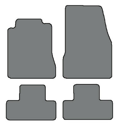 2005-2009 Ford Mustang 4pc Sets Custom Fit Carpet Floor Mats - Choice of Color