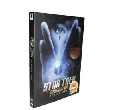 Free shipping Star Trek Discovery Season One (4DVD)