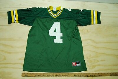 the latest 9c183 c6c13 Wholesale VINTAGE NIKE BRETT FAVRE Green Bay Packers Green ...