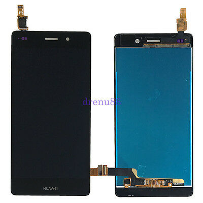 NERO TOUCH Digitizer SCREEN VETRO + LCD DISPLAY Per Huawei P8 Lite ALE-L04 L21