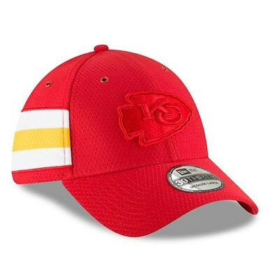 954d3844b New Era Kansas City Chiefs Red 2018 NFL Sideline Color Rush Official  39THIRTY