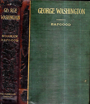 Rare 1901 Leatherbound George Washington First Edition Illustrated President Usa