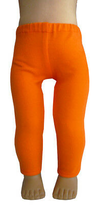 """For 18"""" American Girl Doll Clothes  EXCLUSIVE Orange Leggings Halloween"""