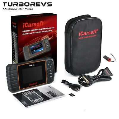 NEW iCARSOFT MB II DIAGNOSTICS FAULT CODE READER SCANNER OBD2 TOOL FOR MERCEDES
