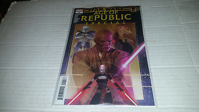 Star Wars Age of Republic Special # 1 (2019, Marvel) 1st Print
