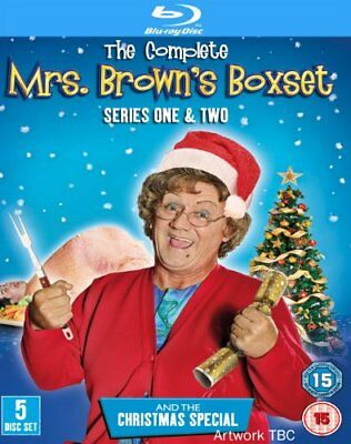 Mrs Brown's Boys - Series 1-2 Complete / Christmas Special [Blu-ray] -  CD O0LN