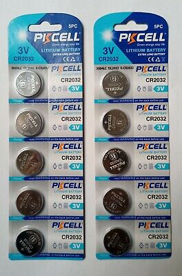 10 pcs CR1632  Lithium Batteries 3V