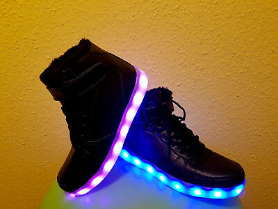 designer fashion 3e0fc 67052 LED SCHUHE KINDER Gr. 34 Licht Sneakers Winterschuhe NEU