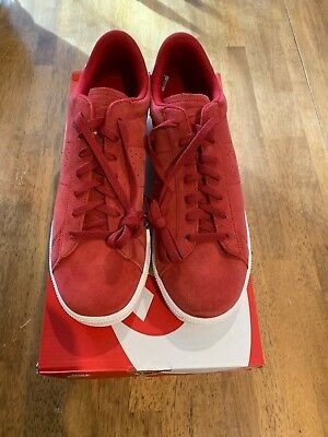 20ec8ea63807fa Nike Tennis Classic CS Suede Men s Shoes Size 8 Red 829351 600 NEW In Box