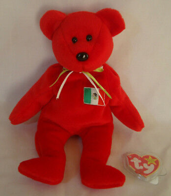 4e81ea389fa TY BEANIE BABY - OSITO the Mexician Bear (USA Exclusive) (8.5 inch ...