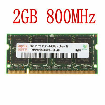2GB Notebook RAM For Hynix 2G /1GB PC2-6400S DDR2-800MHz 200Pin SO-DIMM LOT UK