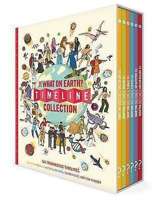 The What on Earth? Timeline Collection: Six Tremendous Timelines Covering Big Hi