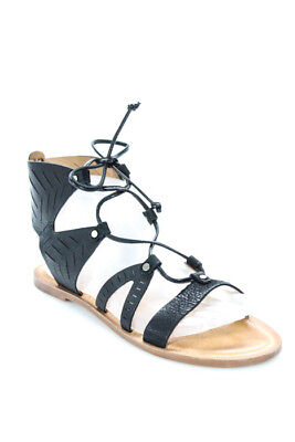5707a0e292d Dolce Vita Black Suede Juno Sandals Size 8.5 NEW MSRP  90 011109 IN BOX