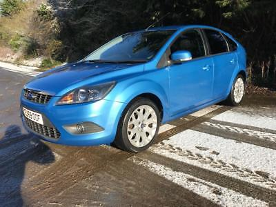 Ford Focus 1.6 Zetec sat nav low mileage