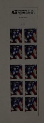 Us Scott 4392 Booklet Of 10 American Flag Stamps 44 Cent Face Mnh