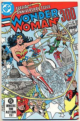 WONDER WOMAN #300 NM, Gene Colan art, Giant Anniversary Issue, DC Comics 1983