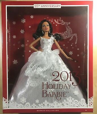Barbie Collector 2013 Holiday African-American Doll Brand New in Factory Box