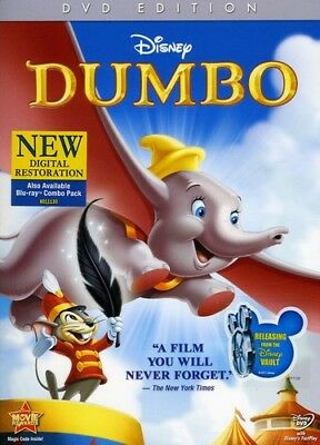 Dumbo [New DVD] Anniversary Edition, Full Frame, O-Card Packaging, Subtitled,
