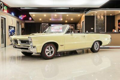 1965 Pontiac GTO Convertible Frame Off, Rotisserie Restored! 389ci TriPower V8, Automatic, PS, PB, Documented