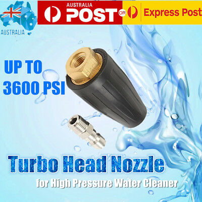 Pressure Washer Turbo Head Nozzle for High Pressure Water Cleaner Up To 3600PSI