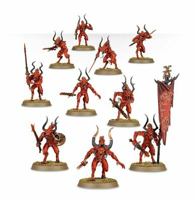 Bloodletters Daemons of Khorne [x10] Wrath and Rapture [New on Sprue]