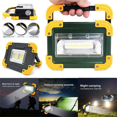 30W PORTABLE COB LED Work Light USB Rechargeable Outdoor