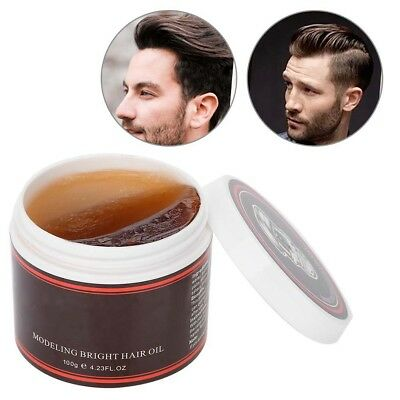 Men's Cement Clay 100ml Hair Styling Wax High Hold Barber Styling Pomade Hot