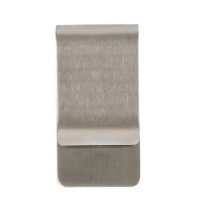 1/2/5 Pcs Stainless Steel Silver Money Clip Holder Cash Gift Mens Wedding Favour