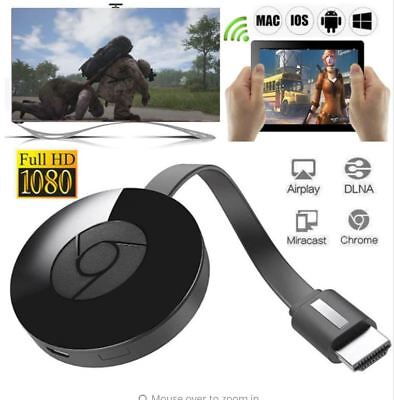 Chromecast 3 Digital HDMI 1080P Media Video Streamer 3rd Generation For Google