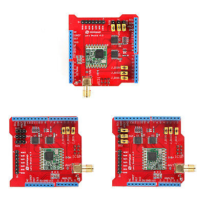 Funkmodul Wireless 433//868//915 Mhz Lora//GPS Expansion Board Für Raspberry Pi AH