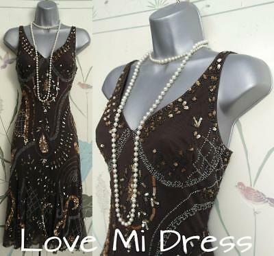 Principles - 20's Vintage Style Gatsby, Flapper, Charleston Dress 14 EU42