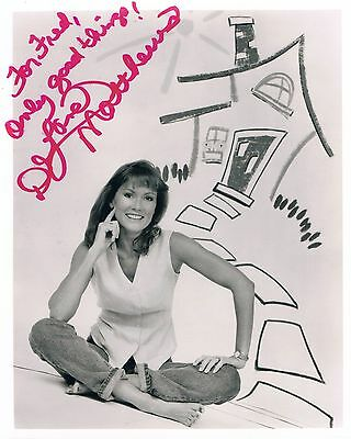 "DeLane Matthews 1961- genuine autograph photo 8x10"" signed/inscribed US actress"