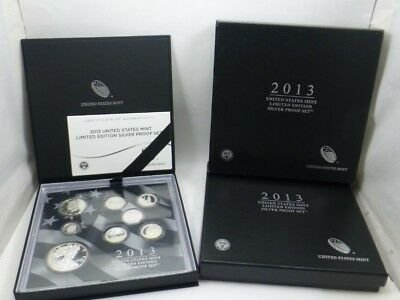 2013 United States Mint Limited Edition Silver Proof Set Uncirculated