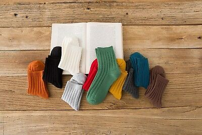 New 5 Pairs Candy Color Cotton Women Soft Warm Socks Fast Shipping British Style