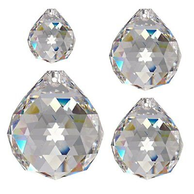 86635c4a8bb779 CRISTALLO SET SFERE 2 30 & 40mm CRYSTAL AB 30% PbO ~ FENG SHUI ...
