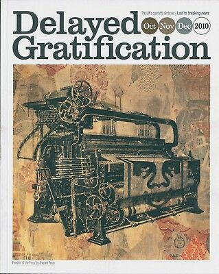 Delayed Gratification - The slow journalism magazine - Issue 1