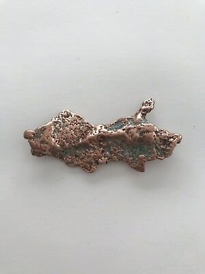 1 oz. Native Michigan Copper Ore Nugget Natural Display Specimen Crafts & Decor