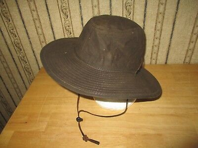 c3e8f55aa NEW DORFMAN PACIFIC Men's Twill Outback Hat Olive Large - $35.00 ...