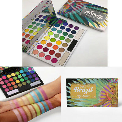 Take Me Back To Brazil: Rio Edition 35 Colors Eyeshadow Palette Gift Cosmetics
