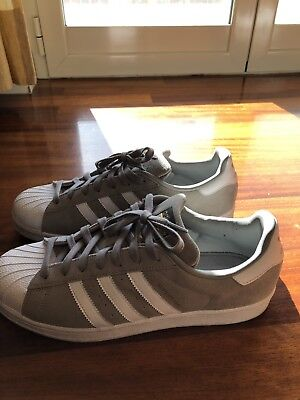 best loved 50e67 fe103 Scarpe Adidas Superstar Uomo Grigie In Pelle 44
