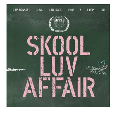 "K-POP BTS Mini Album ""Skool Luv Affair"" Official - 1 Photobook + 1 CD Free Ship"