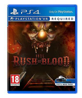Until Dawn - Rush of Blood (PSVR) For PS4 (New & Sealed)