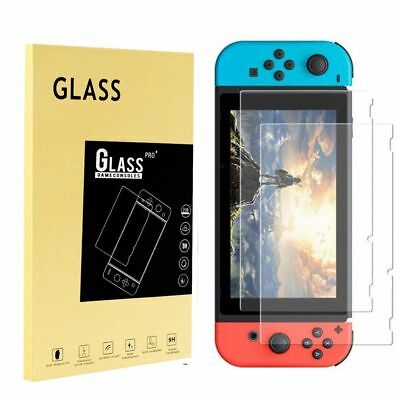 2pcs Nintendo Switch Tempered Glass Screen Protector Premium Guard 9h New Hot