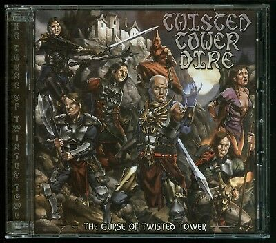 Twisted Tower Dire The Curse Of Twisted Tower CD fans of Iron Maiden Helloween