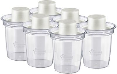 Tommee Tippee CLOSER TO NATURE 6 Travel Formula Dispenser Bottle Feeding New