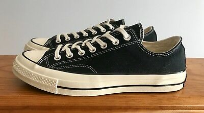 7175e8f008a6 Converse First String Chuck Taylor All Star 70 1970 Low Black Men Size 9  144757C